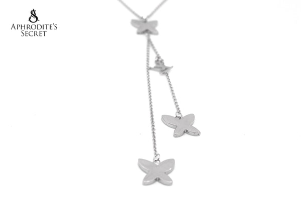 High Quality Stainless Steel necklace Dangling  LV inspired design