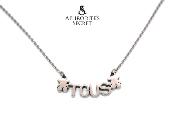 High Quality Stainless Steel Necklace Tous inspired design