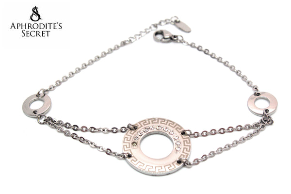 Aphrodite's Secret High Quality Stainless Steel Bracelet  Circle  Classic Design