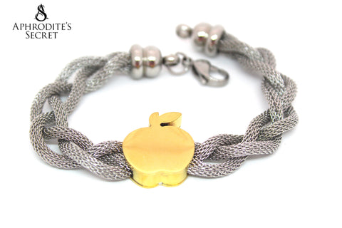 Aphrodite's Secret High Quality Stainless Steel  Bracelet Knotted  Design