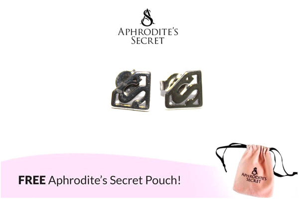 Aphrodite's Secret High Quality Stainless Steel Superman Logo Design Earrings