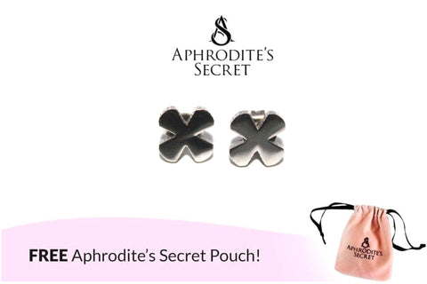 Aphrodite's Secret High Quality Stainless Steel Flower Plain Design Earrings