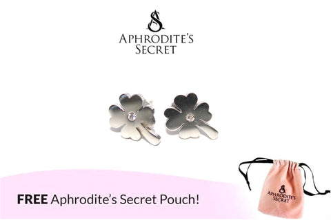 Aphrodite's Secret High Quality Stainless Steel Stemmed  Flower Design Earrings