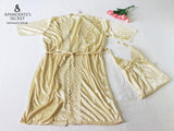 3 PCS SET - Aphrodite's Secret Intimate Wear Robe Set (Night Dress + Robe) SAVE P500