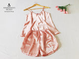 3 PCS SET - Aphrodite's Secret Intimate Wear Patched Up Lace Sleepwear Set (Cami+Short) SAVE P300