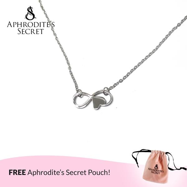 Aphrodite's Secret High Quality Stainless Steel Elegant Infinity Design Pendant Necklace (5 PCS)