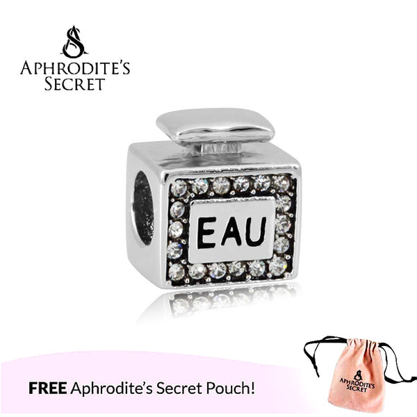 Aphrodite's Secret High Quality Perfume Bottle Design (Pandora Inspired) Stainless Steel