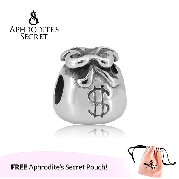 Aphrodite's Secret High Quality  Cute Money Bag Design (Pandora Inspired) Stainless Steel
