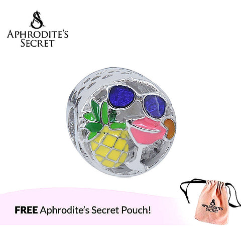 Aphrodite's Secret High Quality  Fun of Summer Design (Pandora Inspired) Stainless Steel