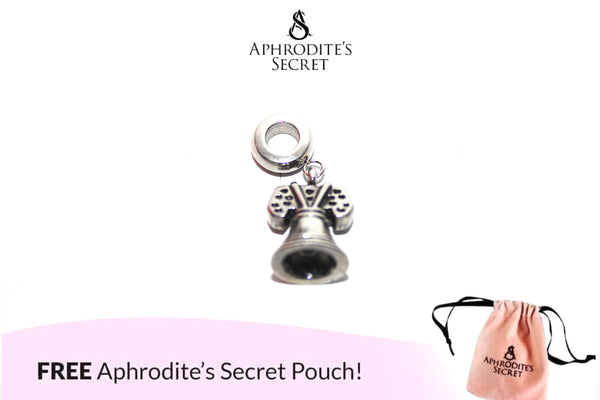 Aphrodite's Secret High Quality Bell Charm Bead (Pandora Inspired) Stainless Steel