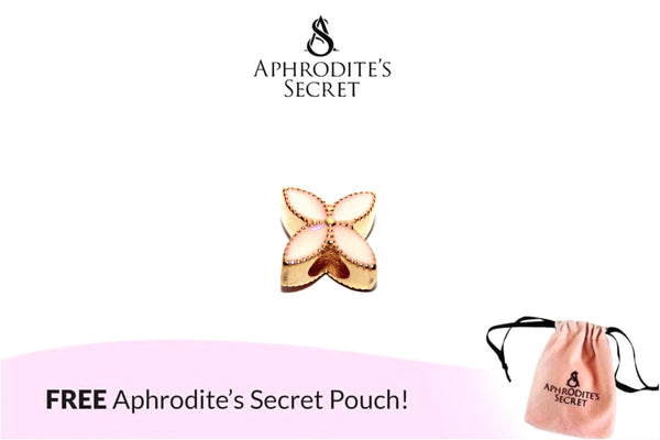 Aphrodite's Secret High Quality Floral Pink Charm Bead (Pandora Inspired) Stainless Steel (Gold)