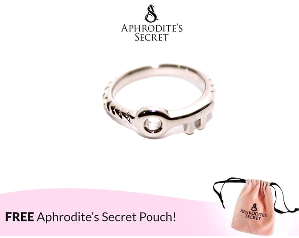 Aphrodite's Secret High Quality Stainless Steel Knotted Key Design Ring