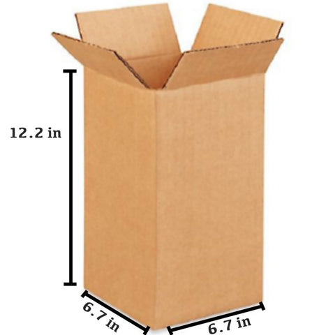 25 PCS Corrugated Box (17.2 x 17.2 x 31 cm)