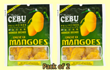 Cebu Dried Mangoes Fruit Snack 100g
