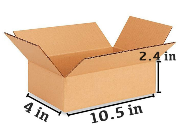 25 PCS Corrugated Box (26.7 x 10.2 x 6.3 cm)