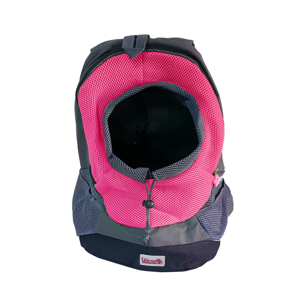 High Quality Dog Carrier Backpack Mickey Keychain (Pink+Black)