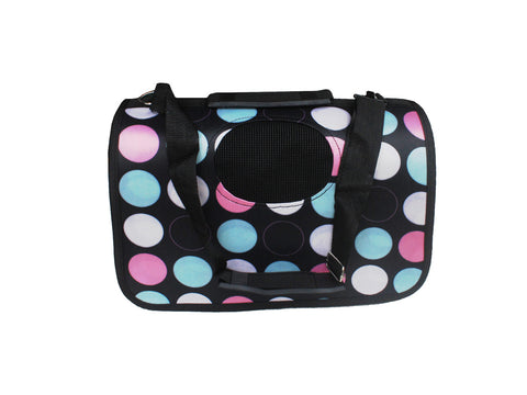 High Quality Small Dog Foldable Colorful Polka Dots Design