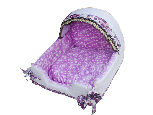 High Quality  Dog Bed Purple (Small)