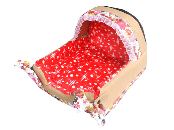High Quality Dog Bed Red (Small)