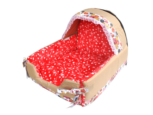 High Quality Dog Bed Red (Medium)