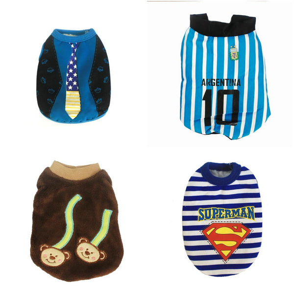 4PCS - High Quality Dog Clothes (Small) SAVE P230