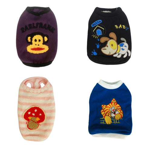 4 PCS High Quality Dog Vest Clothes (Small) SAVE P230