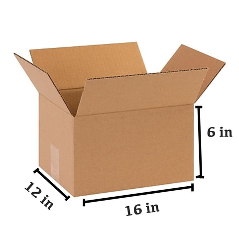 25 PCS Corrugated Box (40.6 x 30.5 x 15.2 cm)