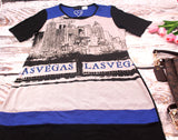 High Quality Women Dress  Las Vegas Design  (Black)