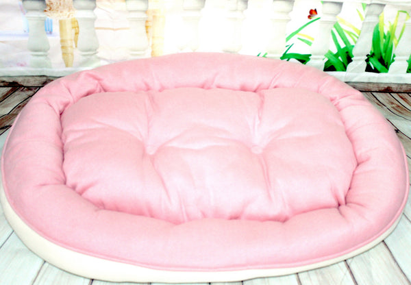 High Quality Pet Dog Cat Cotton Reversible Design Bed (Large)