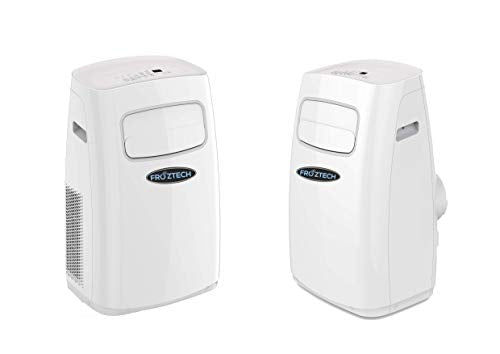 FROZTECH Portable Air Conditioner - Room Air Conditioning Cooler - 450 up to 550 Sf Aire Acondicionado - Room Air Conditioners - Dehumidifier (12,000 BTU)