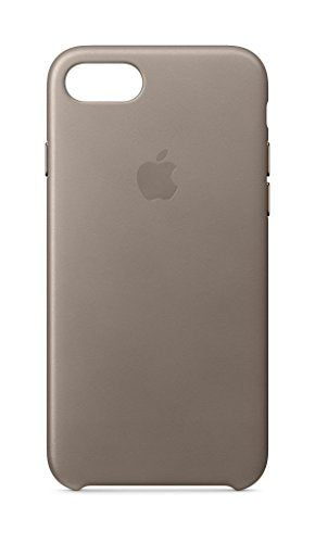Apple Leather Case (for iPhone 8 / iPhone 7) - Taupe