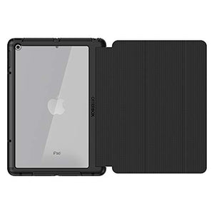 OtterBox Symmetry Folio Series Case for iPad (5th and 6th Generation) - Retail Packaging - Starry Night - (Clear/Black/Dark Grey MICROSUED)