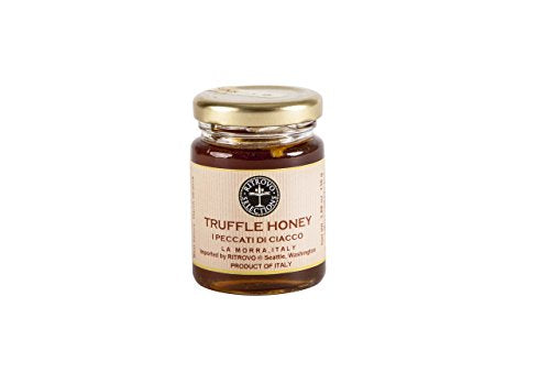Italian Black Summer Truffle Honey - 3.88 oz