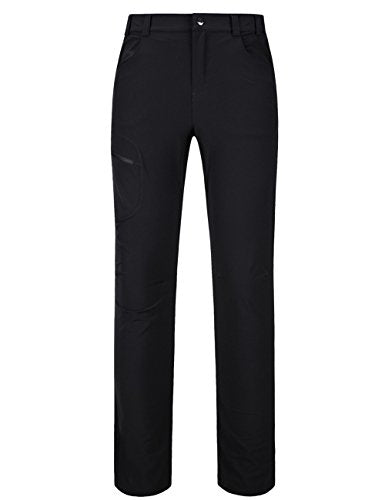 Yifun Outdoor Womens Water-Resistant Quick Dry Golf Sports Pants Black