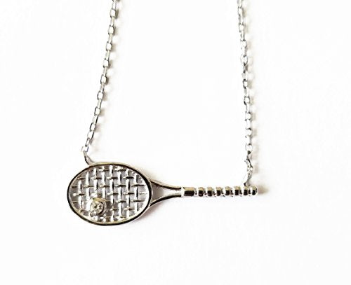 The Perfect Tennis Necklace (Silver)
