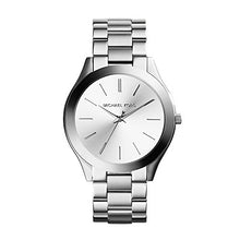 Load image into Gallery viewer, Michael Kors Women's Runway Silver-Tone Watch MK3178