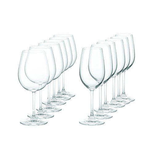 Marquis by Waterford 40005589 Vintage Wine Glasses Set of 12 Clear