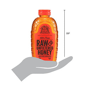 Nature Nate's 100% Pure Raw & Unfiltered Honey; 32-oz. Squeeze Bottle; Certified Gluten Free