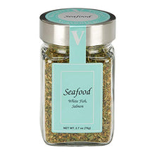 Load image into Gallery viewer, Seafood Seasoning - 2 Pack. Includes chives, thyme, oregano and lemon, accented with onion and bell pepper. Delicious in all fish and seafood recipes. VICTORIA TAYLOR'S BY VICTORIA GOURMET.