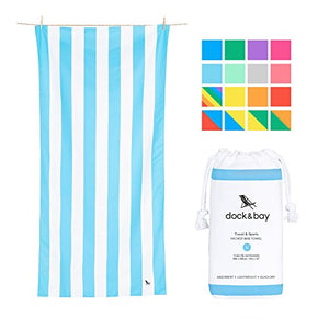Dock & Bay Quick Dry Towel Set - Set of 4, Extra Large (78x35) - Beach Towels for Swim & Travel