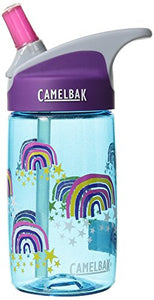 CamelBak eddy Kids BPA Free Water Bottle 12 oz, Glitter Rainbows