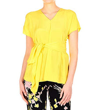 Load image into Gallery viewer, Diane von Furstenberg Women's 12808Dvfgoldr Yellow Silk Shirt