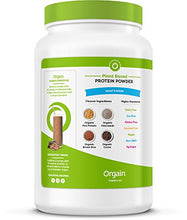 Load image into Gallery viewer, Orgain Organic Plant Based Protein Powder, Creamy Chocolate Fudge, 2.03 Pound, Packaging May Vary