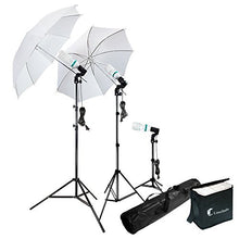 Load image into Gallery viewer, Photography Photo Portrait Studio 600W Day Light Umbrella Continuous Lighting Kit