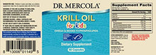 Load image into Gallery viewer, Dr. Mercola, Krill Oil for Kids, 30 Servings (60 Capsules), Source of Omega 3 Fatty Acids, MSC Certified, Non GMO, Soy Free, Gluten Free