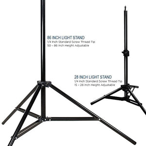 Photography Photo Portrait Studio 600W Day Light Umbrella Continuous Lighting Kit