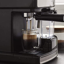 Load image into Gallery viewer, Mr. Coffee Cafe Barista Espresso and Cappuccino Maker, Silver