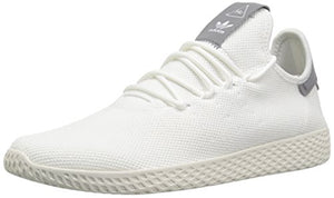 adidas Originals Men's Pharrell Williams Tennis HU Running Shoe White/Chalk, 10 M US