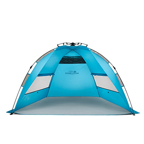 Pacific Breeze Easy Setup Beach Tent (Pacific Breeze Easy Setup Beach Tent)