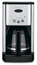 Load image into Gallery viewer, Cuisinart DCC-1200 Brew Central 12 Cup Programmable Coffeemaker, Black/Silver